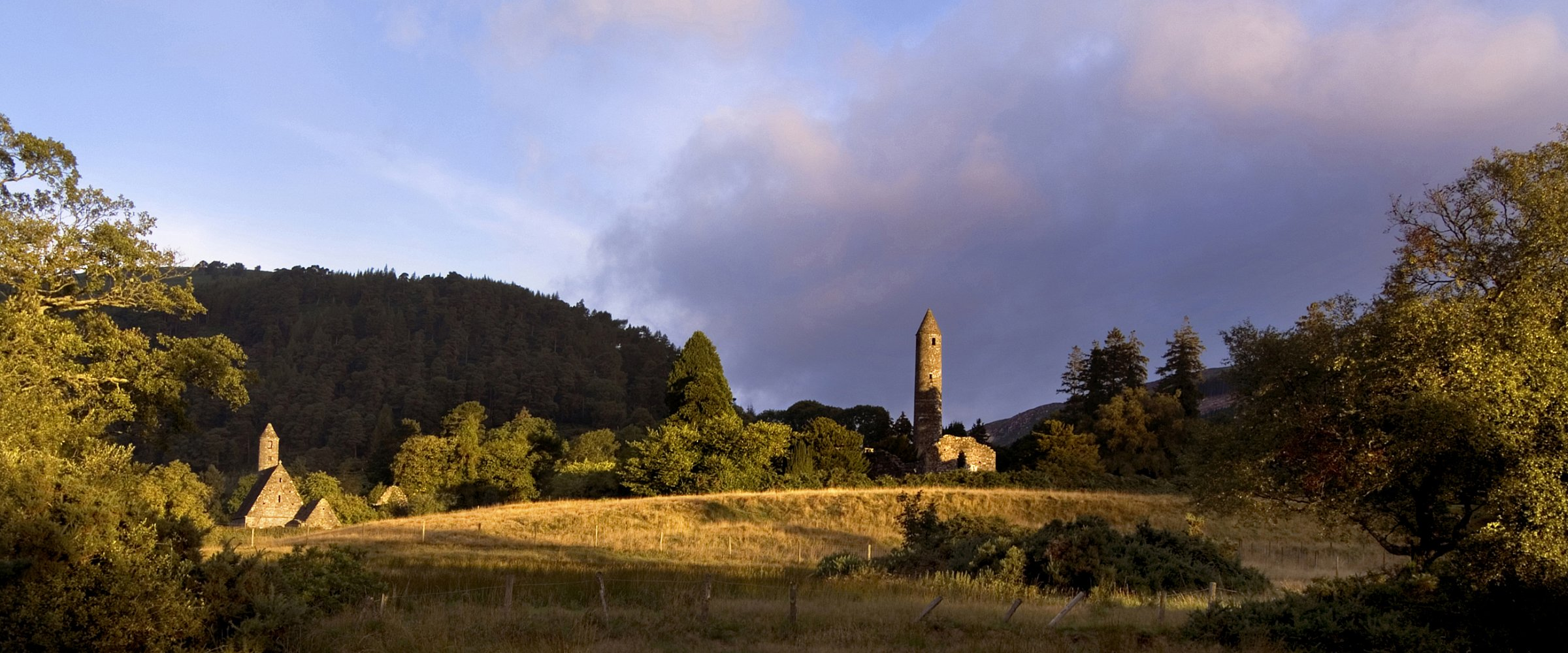 Glendalough, Wicklow. Ireland's Ancient East